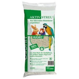 Hugro Hanfpellets-Aktivstreu - 14 l (ca. 6 kg)