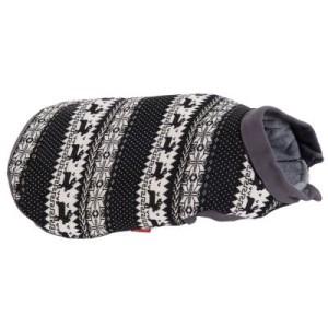 Hundepullover mit Norwegermuster - ca. 20 cm Rückenlänge (Größe XS)