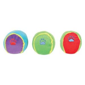 Hundespielzeug Bunte Spielbälle - 3 Stück im Sparset