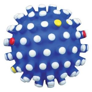 Hundespielzeug Bunter Igelball - 1 Ball
