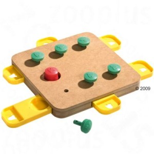 Hundespielzeug Doggy Brain Train Cube - L 32 x B 32 x H 5 cm