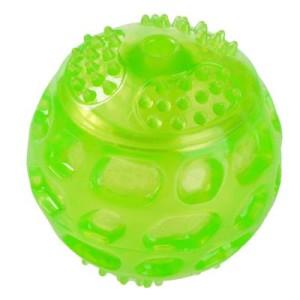 Hundespielzeug Squeaky Ball aus TPR - 3 Stück im Sparset