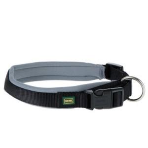 Hunter Neopren Halsband schwarz/grau - Halsumfang 40 - 45 cm