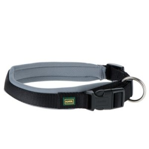 Hunter Neopren Halsband schwarz/grau - Halsumfang 55 - 60 cm