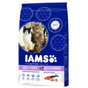 Iams Adult Multi-Cat - Sparpaket: 2 x 15 kg