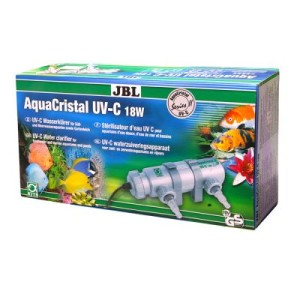 JBL AquaCristal UV-C Wasserklärer Series II - 18 Watt Teilentkeimung für Aquarien bis 400 L