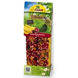 JR Birdy's Papagei - 5 x 2 Stück Banane-Dattel