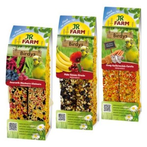 JR Birdy's Sittich Mixed Pack - Mixed Pack 3 x 2 Sticks (3 Sorten je 130 g)