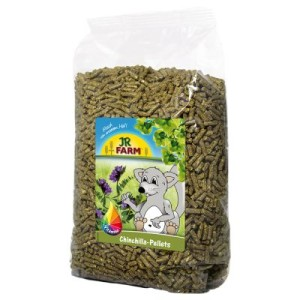 JR Farm Chinchilla-Pellets - 3 x 5 kg
