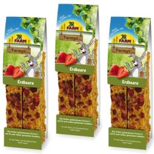 JR Farm Farmy's 6 Stück - Mixed Pack: 12 Stück (6 Stück Erdbeere + 6 Stück Löwenzahn)