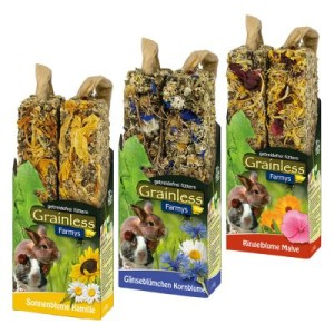 JR Farm Farmy's Grainless Mixed Pack - 6 x 2 Sticks (3 Sorten je 140 g)