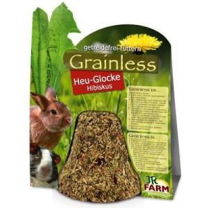 JR Farm Grainless Heu-Glocke Hibiskus - 2 x 1 Stück (250 g)
