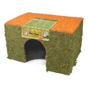 JR Farm Heu-Haus Karotte - 2 Stück