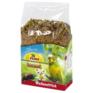JR Farm Individual Wellensittich - 2 x 1 kg