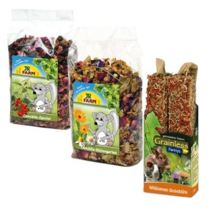 JR Farm Paket Chinchilla - 3-teilig (690 g)