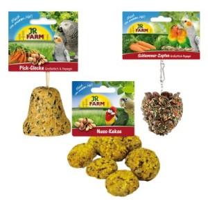 JR Farm Paket für Großsittiche und Papageien - Sparpaket 2 x 3-teilig