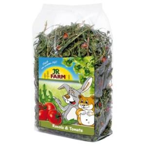 JR Farm Raufutter Rucola und Tomate - 200 g