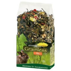 JR Grainless Mix Zwergkaninchen - 2 x 1