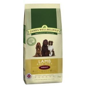 James Wellbeloved Adult Lamm & Reis - 15 kg