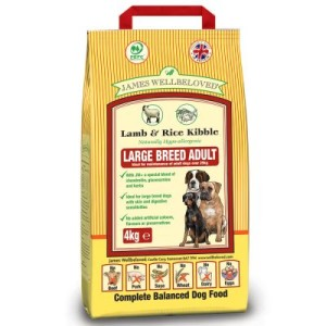James Wellbeloved Adult Large Breed Lamm & Reis - Sparpaket: 2 x 15 kg