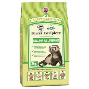 James Wellbeloved Ferret Complete - 2 x 2 kg