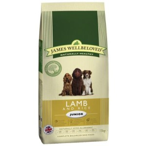James Wellbeloved Junior Lamm & Reis - Sparpaket: 2 x 15 kg