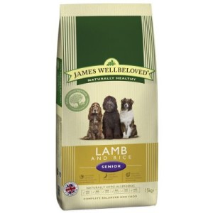 James Wellbeloved Senior Lamm & Reis - Sparpaket: 2 x 15 kg