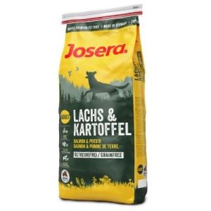 Josera Lachs & Kartoffel getreidefrei - Sparpaket: 2 x 15 kg