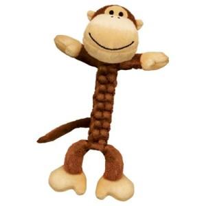 KONG Braidz - Large Monkey: ca. L 34 x B 11 x H 8 cm