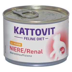 Kattovit Niere/Renal (Niereninsuffizienz) Nassfutter - 6 x 175 g mit Huhn
