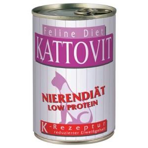 Kattovit Niere/Renal (Niereninsuffizienz) Nassfutter - 6 x 400 g
