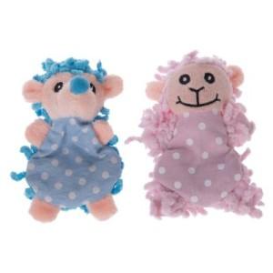 Katzenspielzeug Igel und Schaf Moppi mit Katzenminze - 2er Set