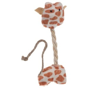Katzenspielzeug Kleine Giraffe - 3 Stück