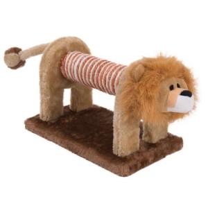 Katzenspielzeug Kratz-Löwe - L 28 x B 17 x H 17 cm