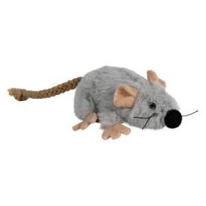 Katzenspielzeug Plüschmaus mit Katzenminze - 1 Stück
