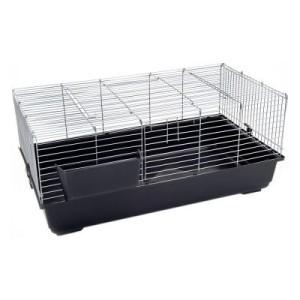 Kleintierkäfig Piggy Basic - dunkelgrau: L 100 x B 54 x H 44 cm