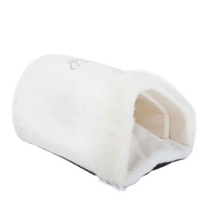 Kuschelsack Royal Pet White XXL - L 50 x B 35 x H 28 cm