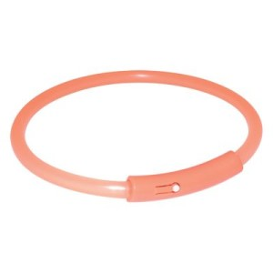 Leuchthalsband Light Band orange - 42 cm