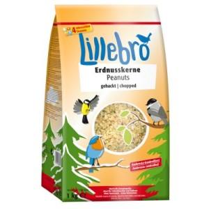 Lillebro Erdnusskerne gehackt - 3 x 1 kg