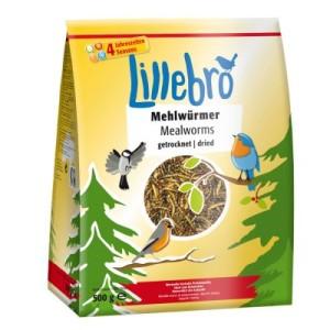 Lillebro Mehlwürmer getrocknet - 2 x 500 g