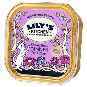 Lily's Kitchen Bio-Menü Kitten - 32 x 100 g