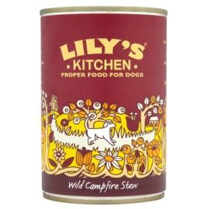 Lily's Kitchen Dinner getreidefrei 6 x 400 g - Wild Campfire Stew mit Fasan & Wild