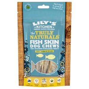 Lily's Kitchen Fish Skin Dog Chews - 75 g