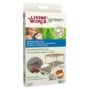 Living World Green Streu-Unterlage - 10 Stück: L 140 x B 100 cm