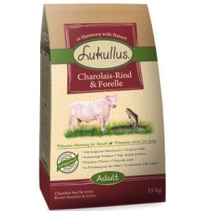 Lukullus Charolais-Rind & Forelle - Sparpaket: 2 x 15 kg