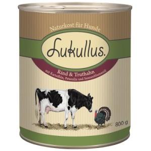 Lukullus Rind & Truthahn - 6 x 800 g