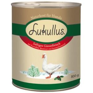 Lukullus Winter-Menü: Saftiges Gänsefleisch - 6 x 800 g