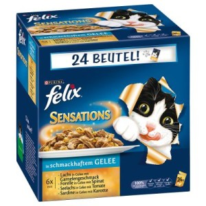 """Megapack Felix """"Sensations"""" 24 x 100 g - Fischauswahl"""