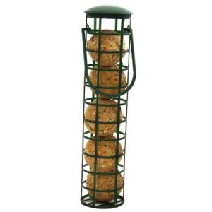 Meisenknödelspender gefüllt - 1 Spender mit 5 Meisenknödeln