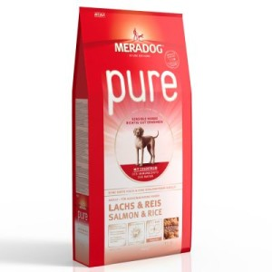 Meradog pure Lachs & Reis - Sparpaket: 2 x 12